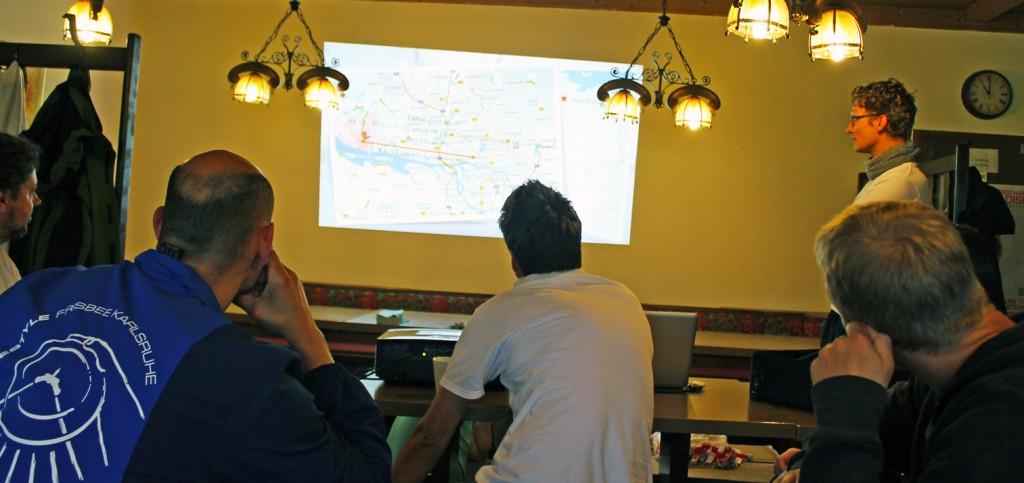 Präsentation der Austragung für 2014